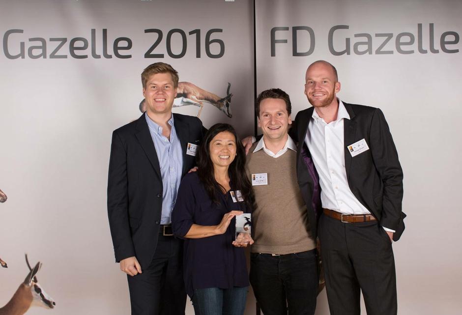 Saleduck in Nederlandse Deloitte Fast50 en FD Gazellen ranking