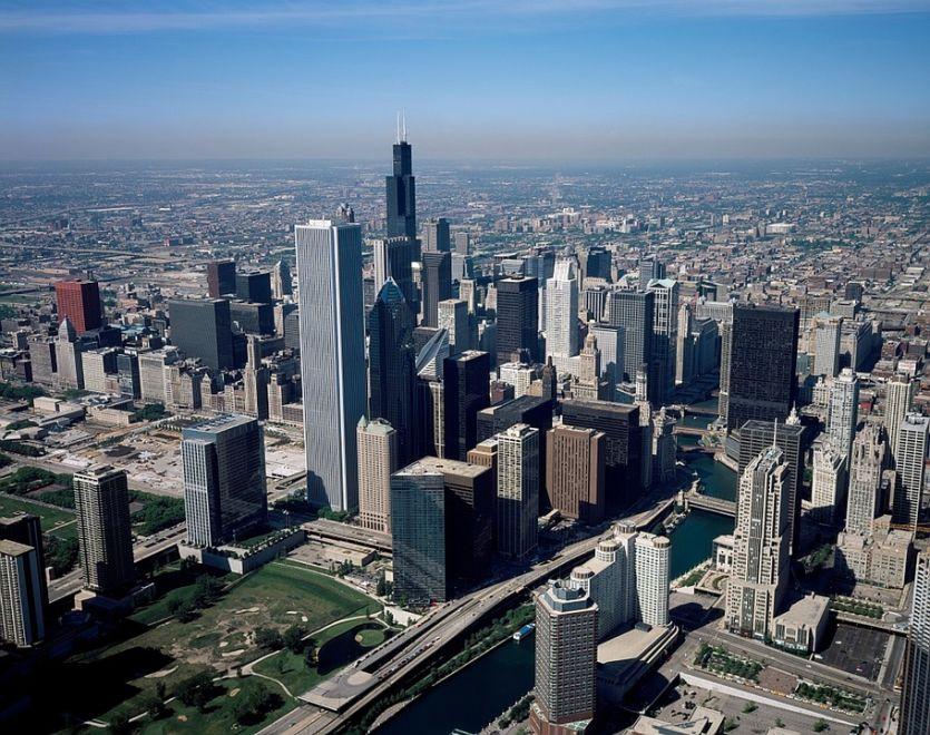USA skyline