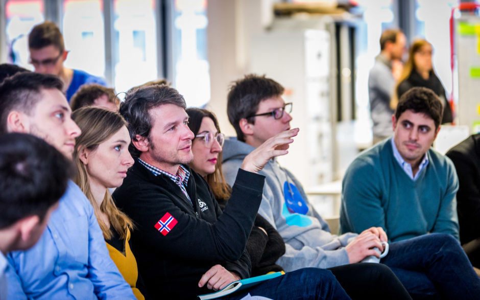 Axel Springer Plug and Play audience