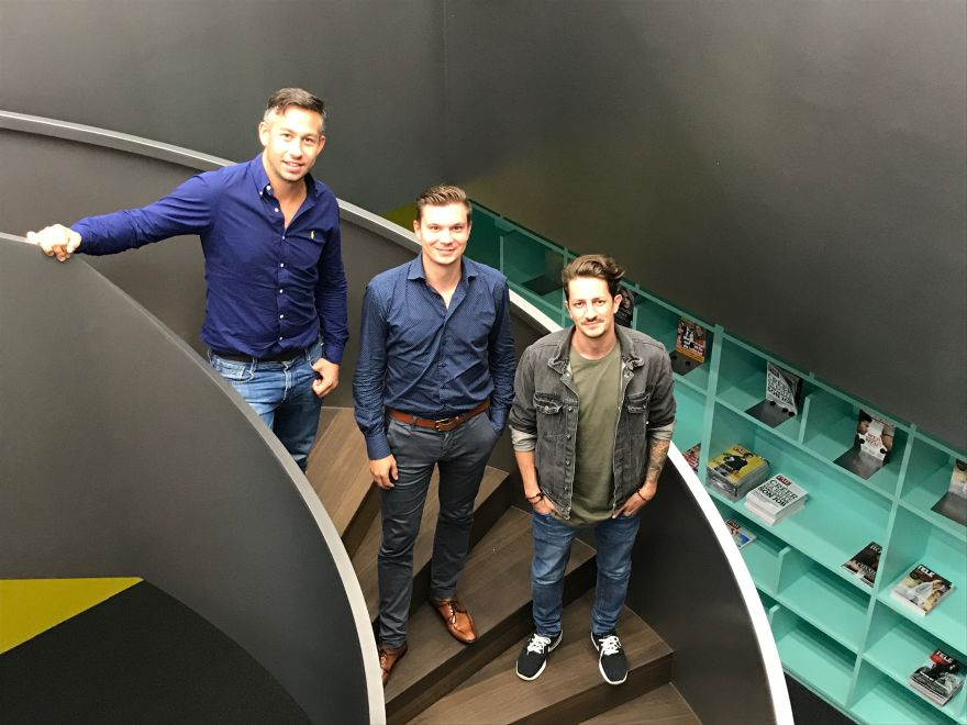Florian Wallner, Tony Riedel, Stephan Geiger