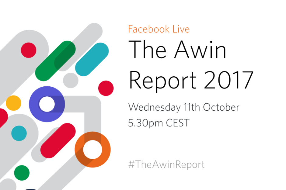 Logo Awin report 2017