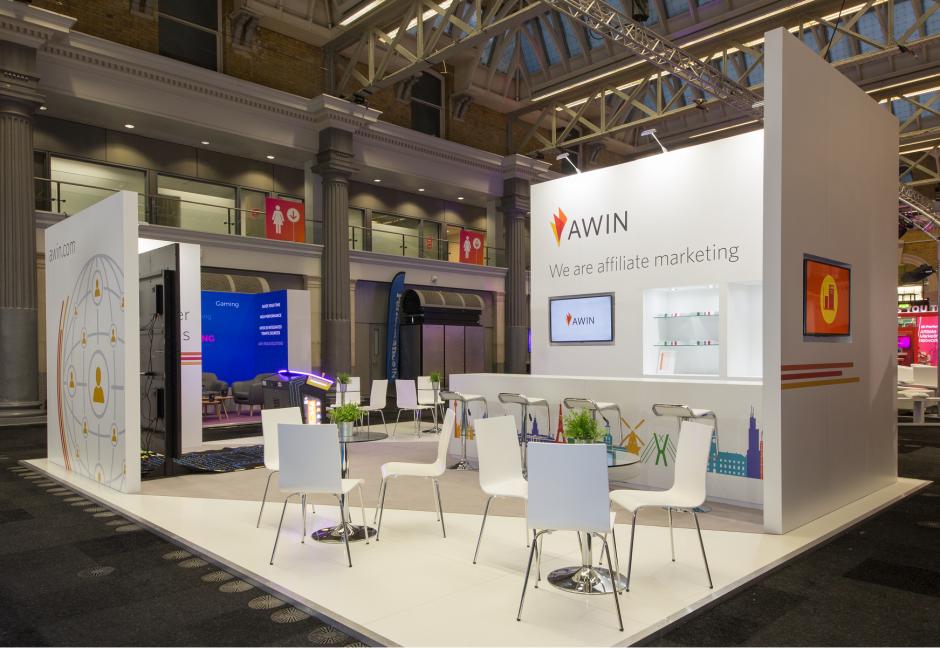 Awin stand at PI:Live 2017