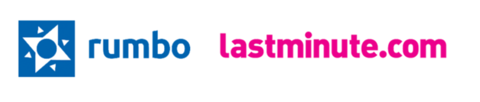 Logos Rumbo and lastminute.com