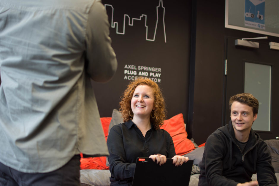 start-up, Axel Springer Plug and Play