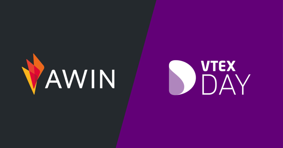 Logos Awin and VTEXDAY