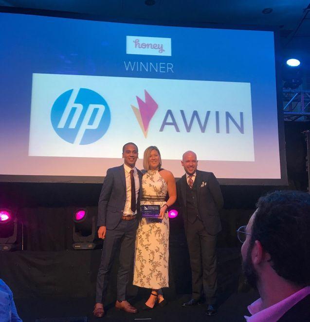 HP Awin Award IPMA 2018