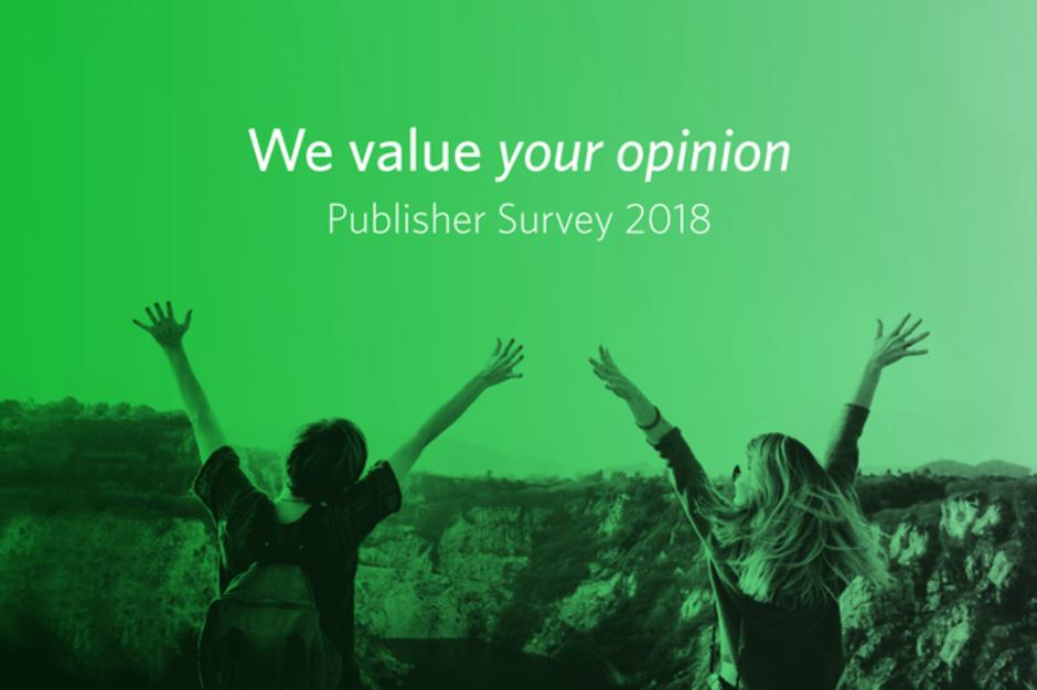 Creatività per la Publisher Survey