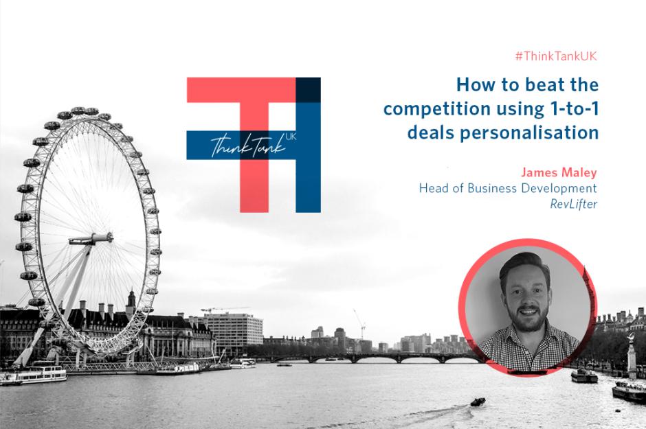 Meet the ThinkTank UK speaker: James Maley, RevLifter