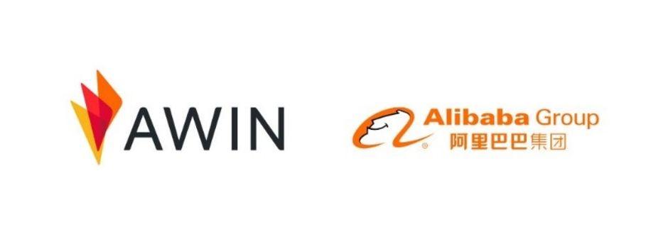 Loghi di Awin e Alibaba