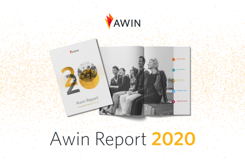 Header zum Awin Report 2020