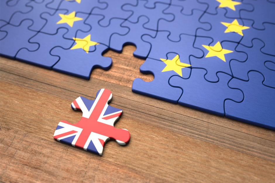 Tassello puzzle bandiera inglese
