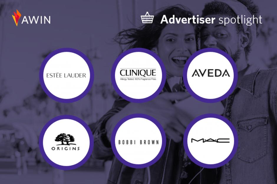 Logos der Estée Lauder Gruppe