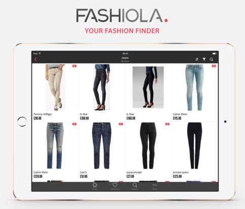 Fashiola affiliate homepage