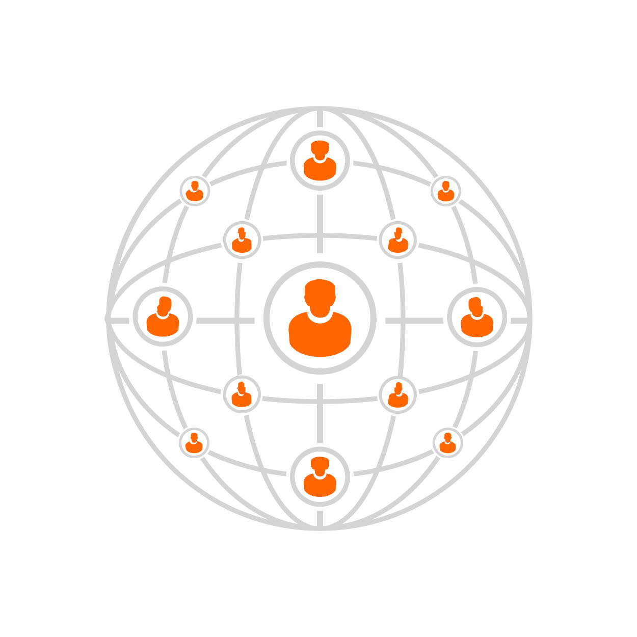 Rede de afiliados diversa com alcance global