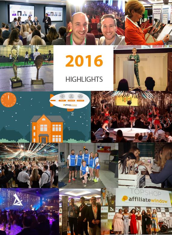 Awin affiliate marketing highlights 2016