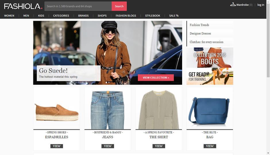 """Le """"fashion finder"""" Fashiola"""