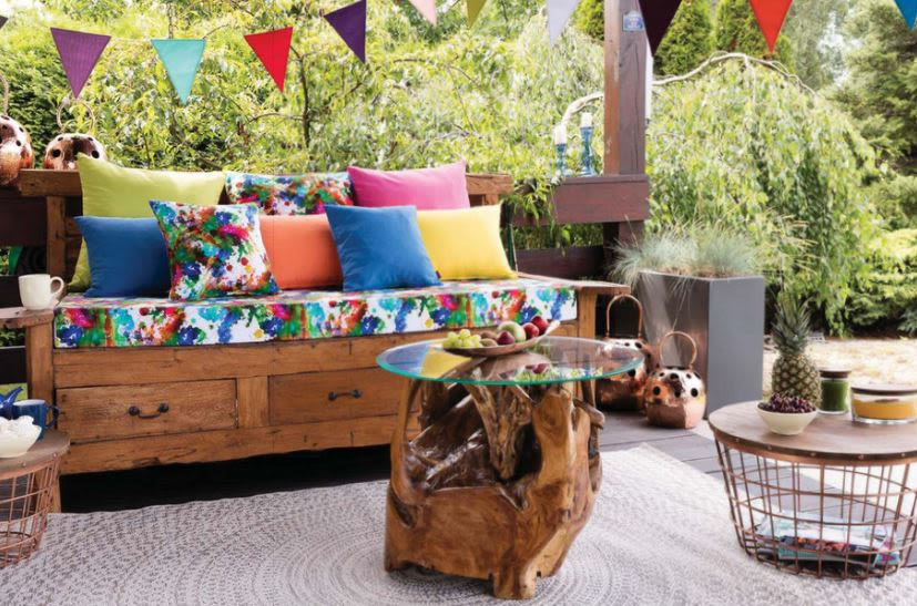 Dekoria garden fabric furniture