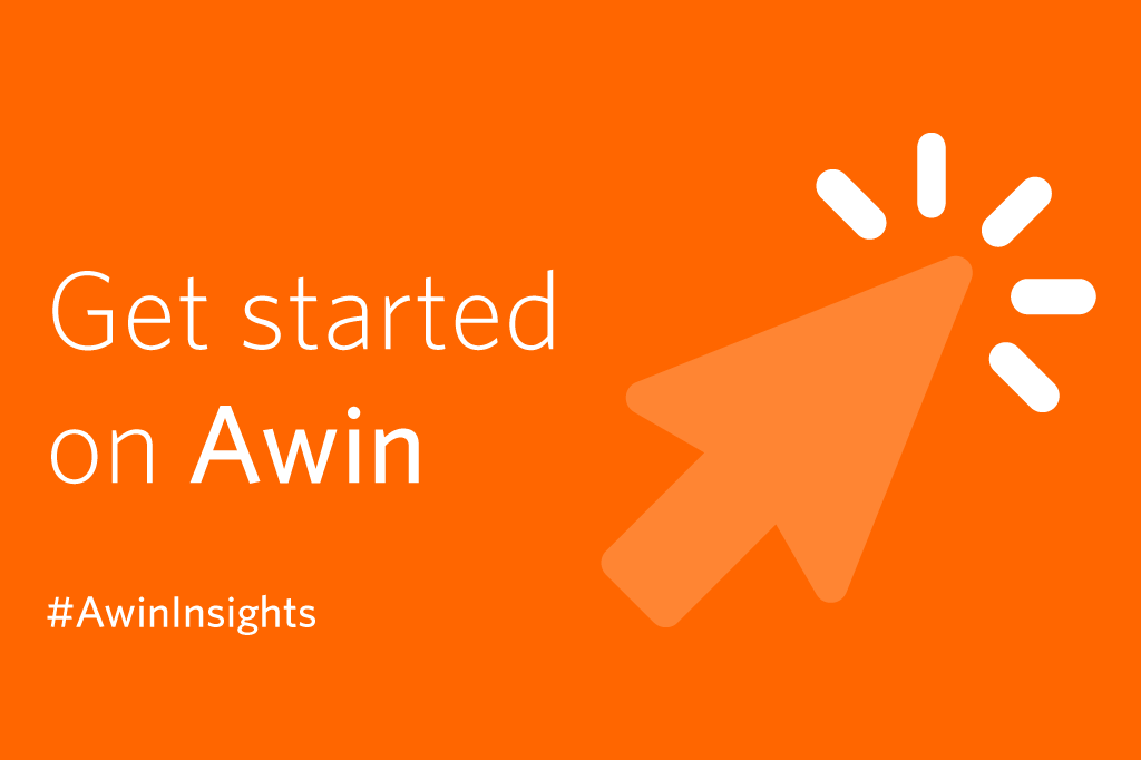 Getting started on Awin graphic computer arrow