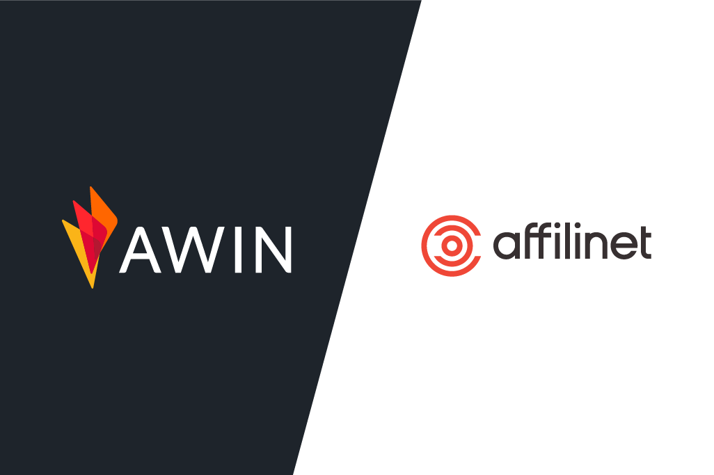 Awin and affilinet logos.