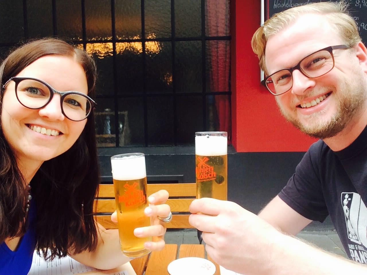 Sarah Sahl und Nils Röthemeier