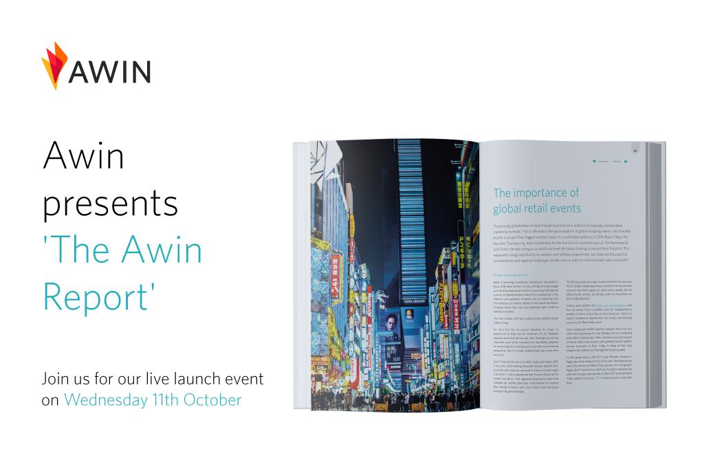 Screenshot del nuovo Awin report