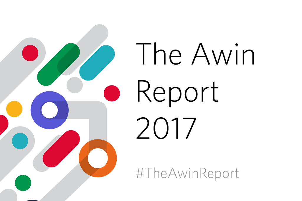 La grafica dell'Awin Report