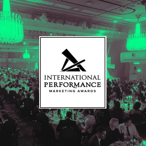 Logo international performance marketing awards