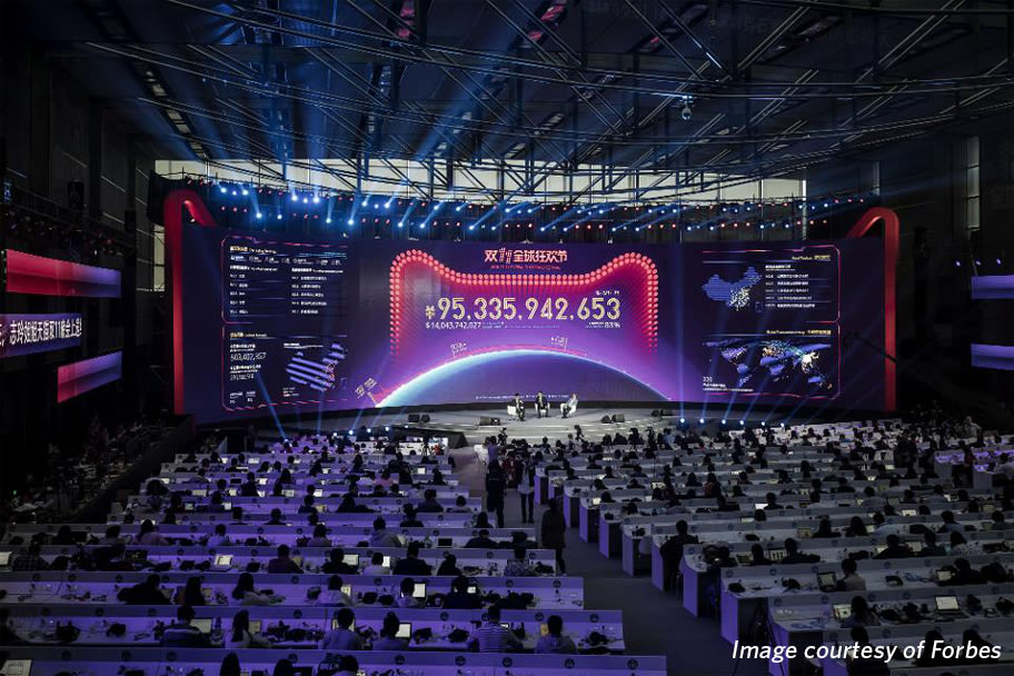 Singles' Day: The largest retail event anywhere in the world