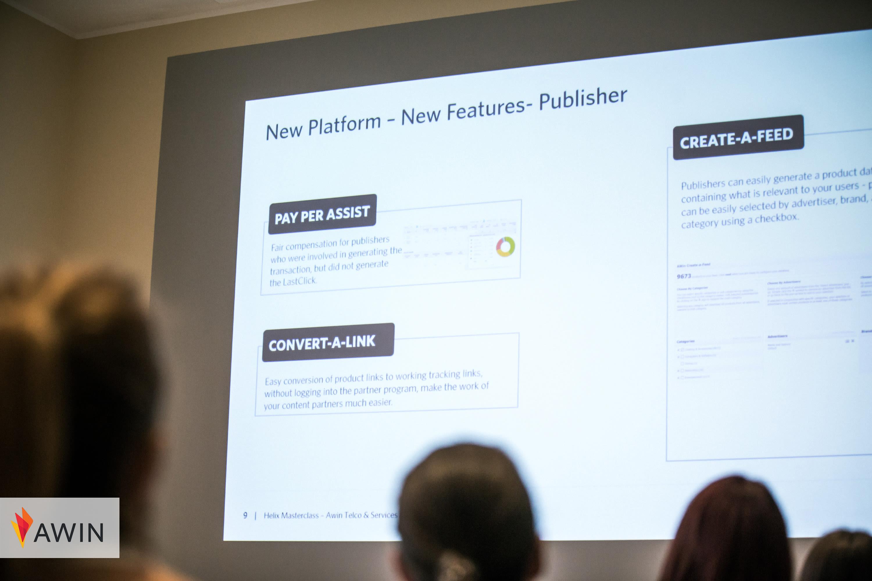Präsentation zur neuen Plattform