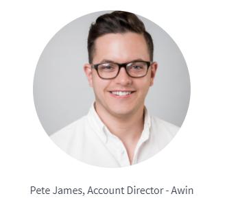 Pete James - Awin