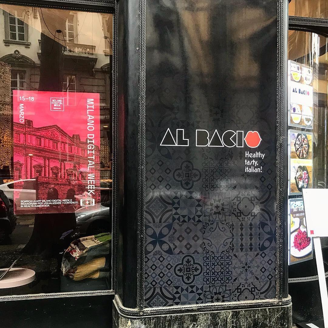 La vetrina de Al Bacio