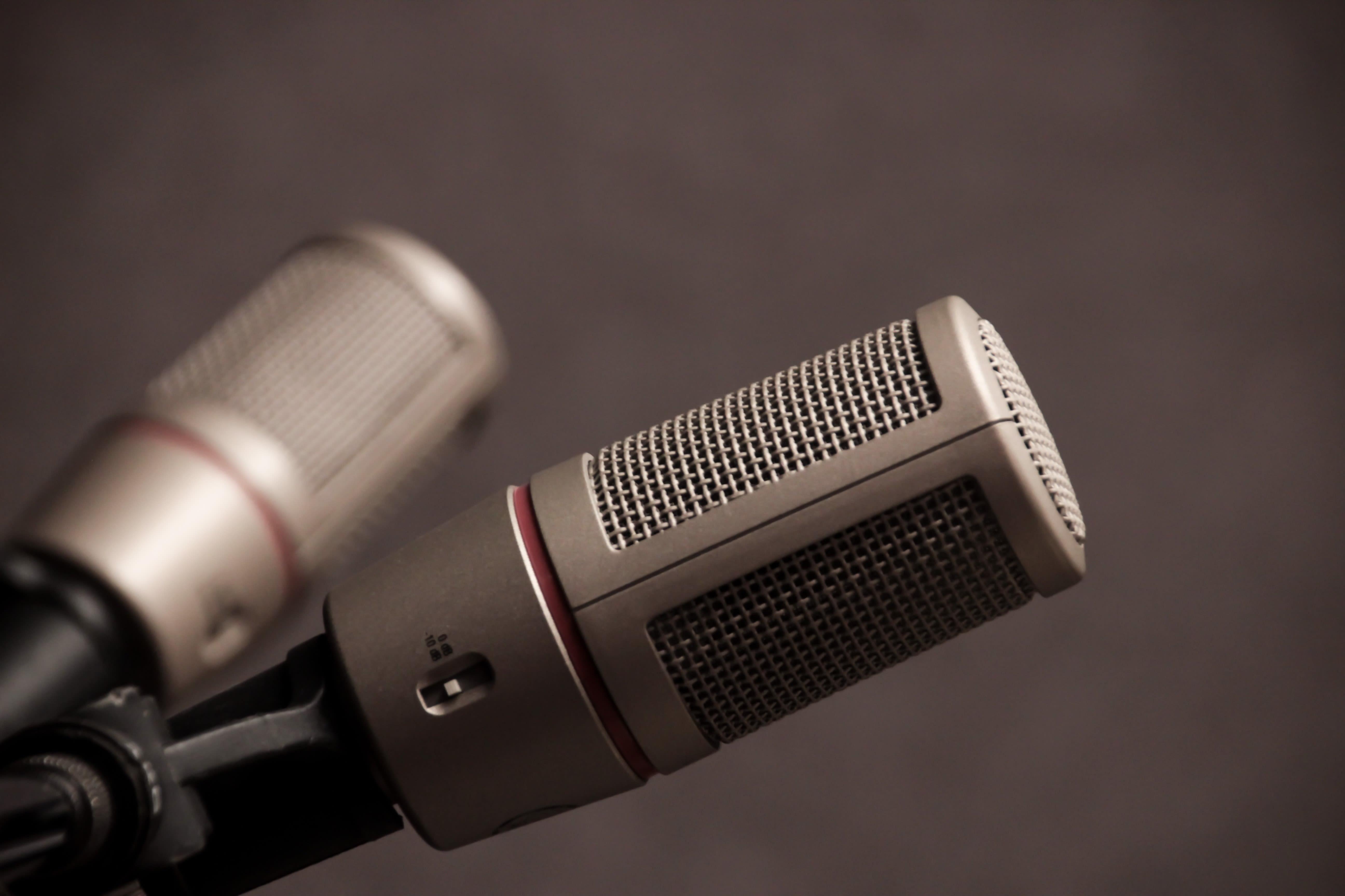 zwei Mikrofone