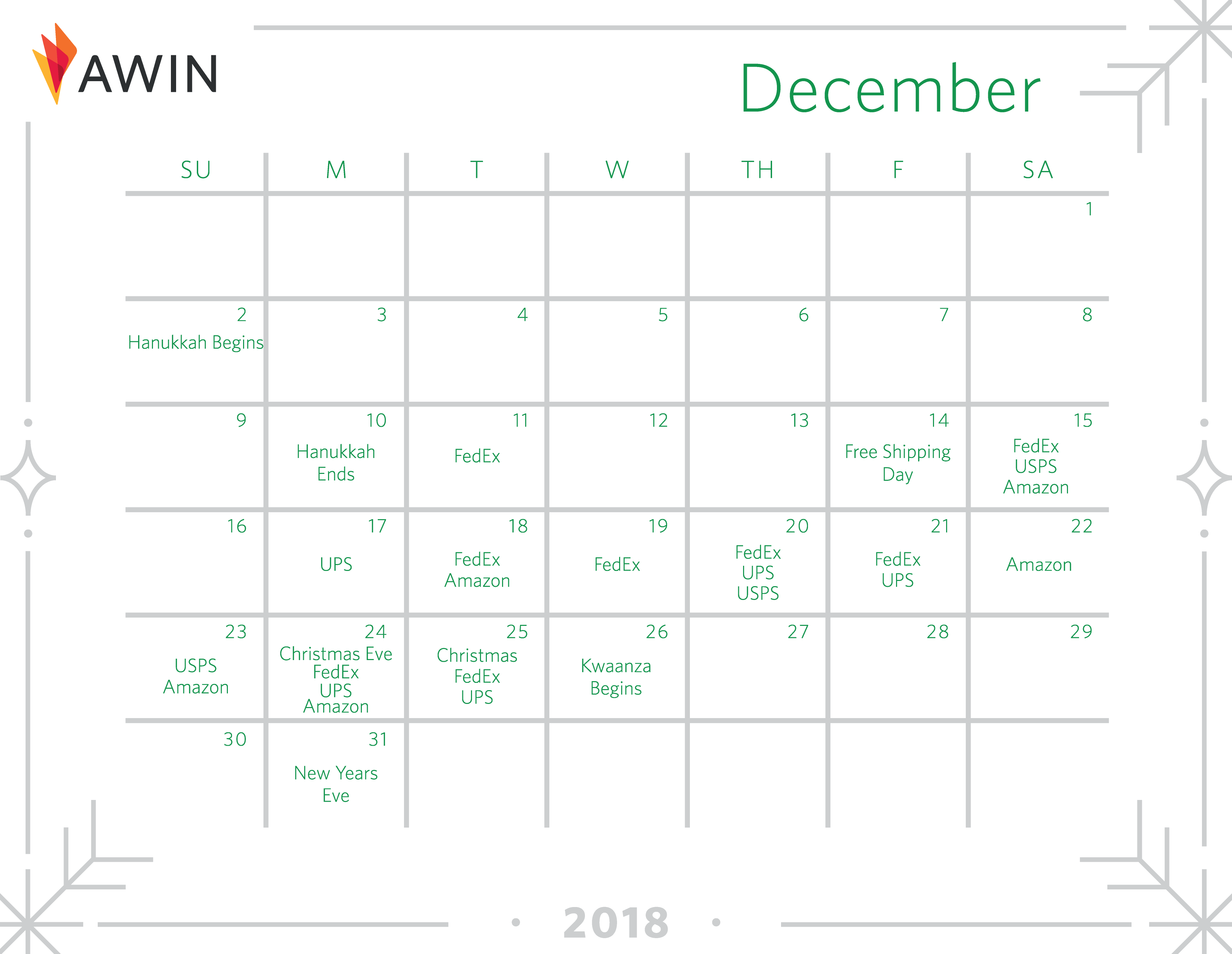 Important dates + deadlines in Q4 | Awin
