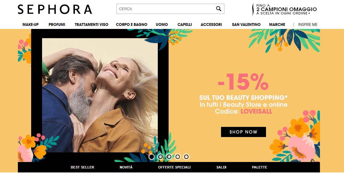 homepage sephora