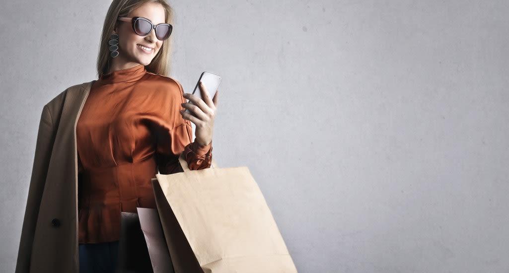 Woman buys