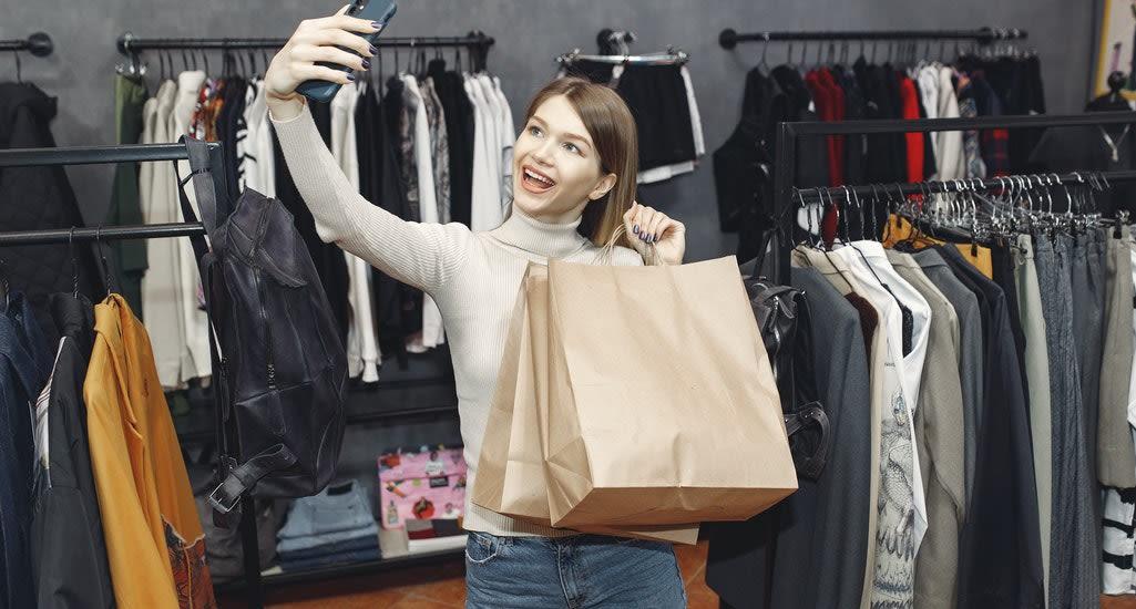 Influencer shopping