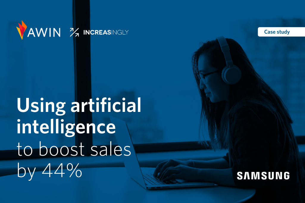 Using artificial intelligence to boost sales by +44%
