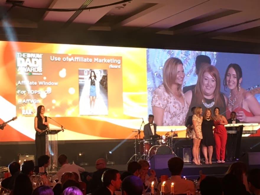 DADIs affiliate marketing awards