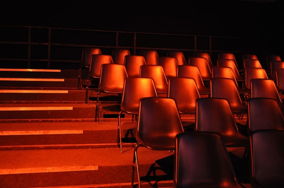 chairs in lecture hall