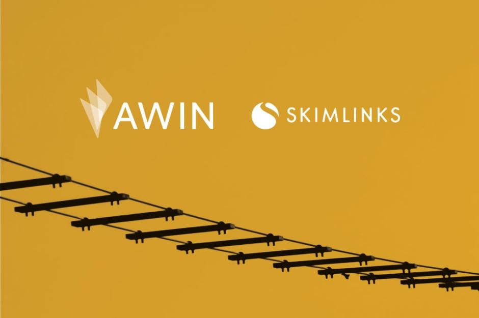 Loghi di Awin e skimlinks