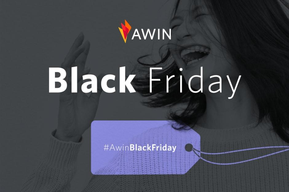 Creatività Awin per il Black Friday