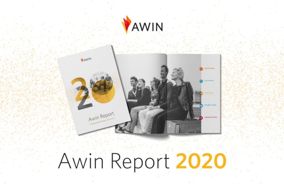Header zum Awin Report 2020