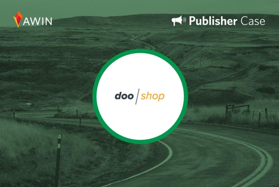 Header mit Logo von doo/Shop