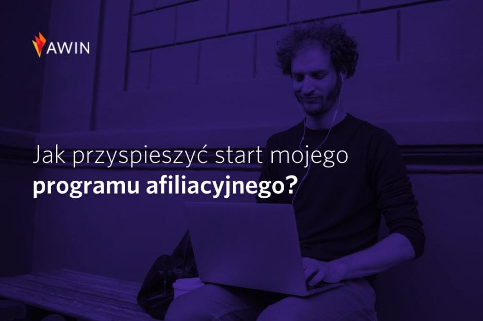 start programu afiliacyjnego Awin