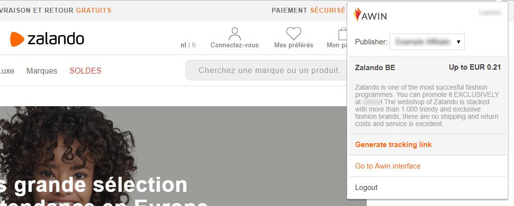 MyAwin screenshot BEFR