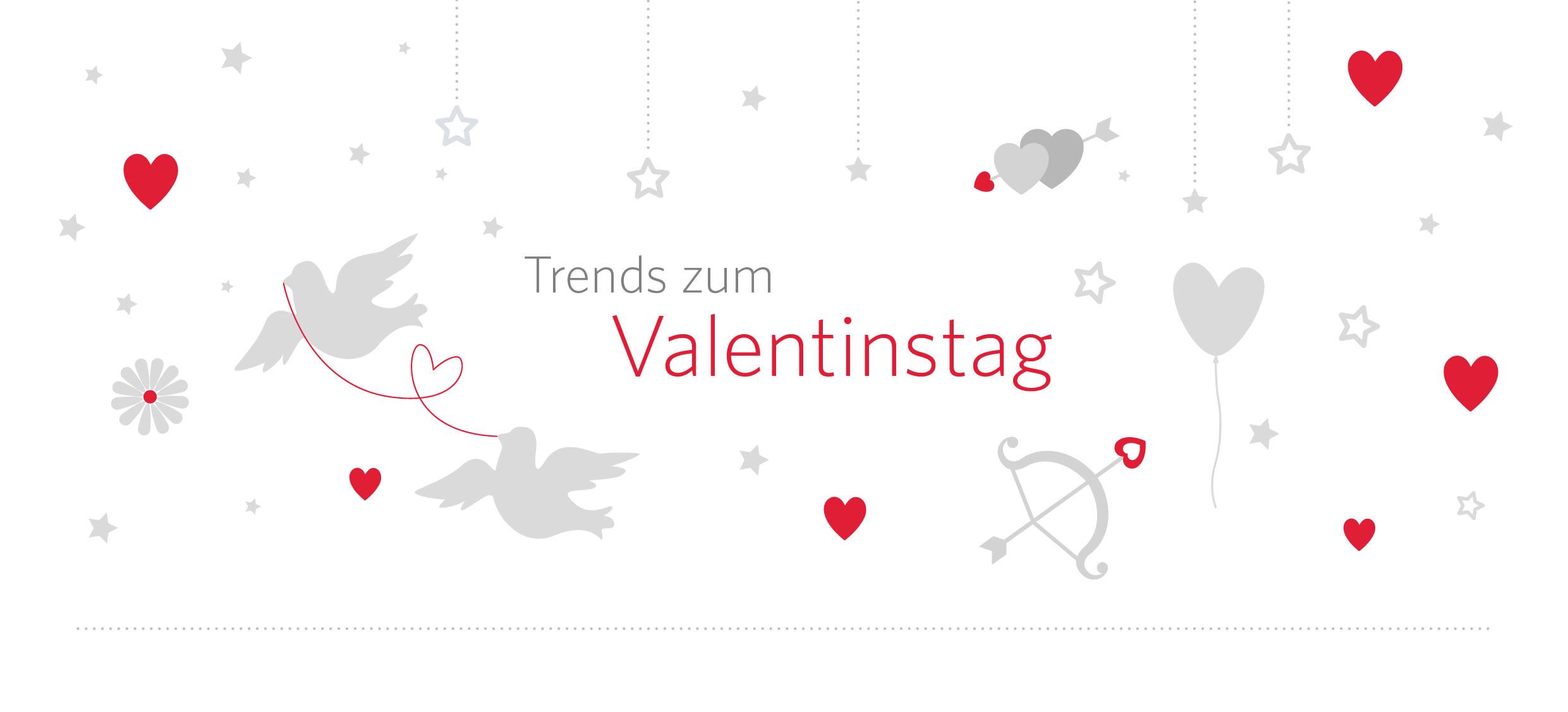 Trends zum Valentinstag