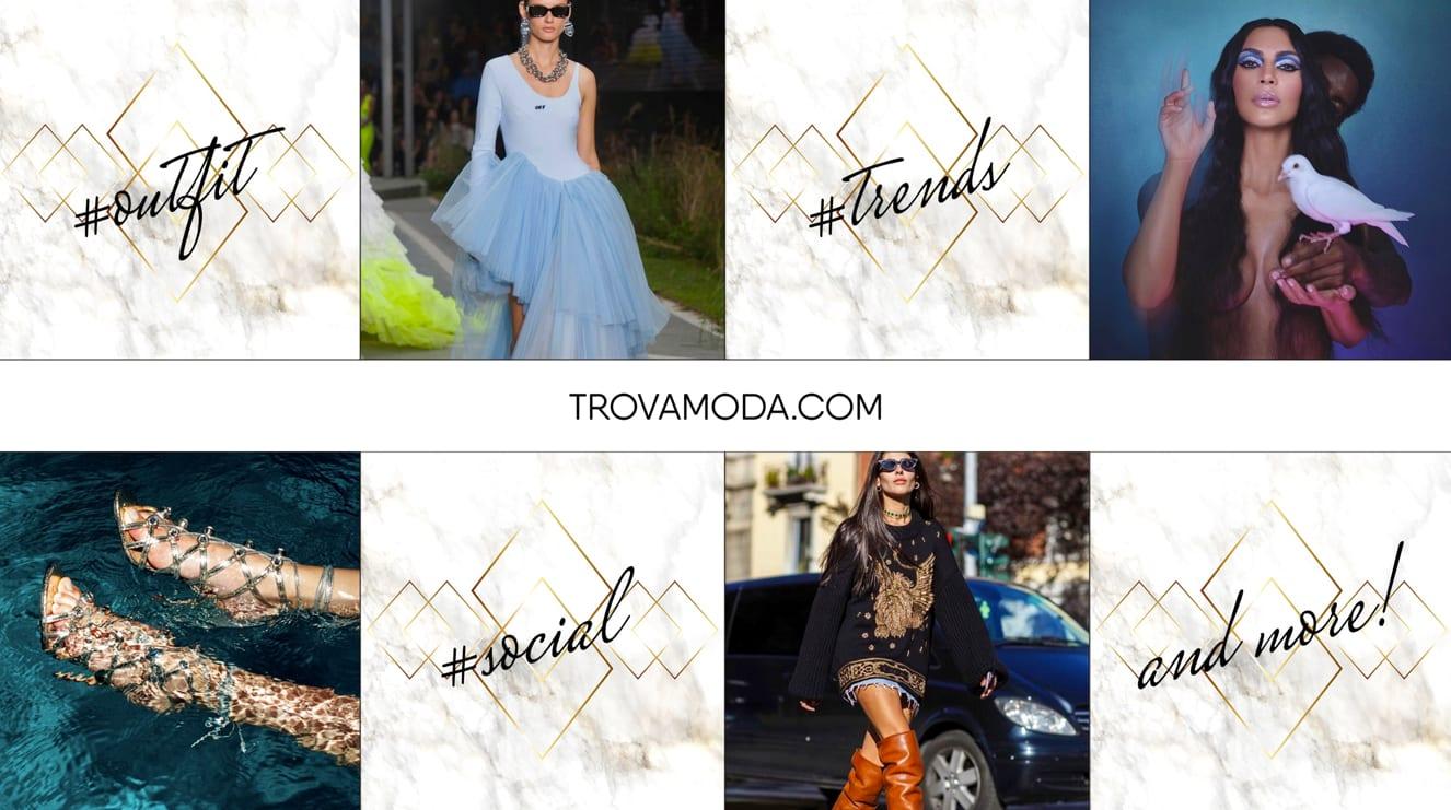 esempi di outfit creati da Trovamoda