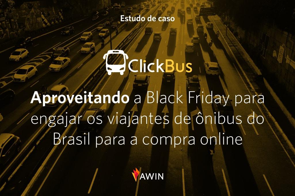 Aproveitando a Black Friday para engajar os viajantes de ônibus do Brasil para a compra online