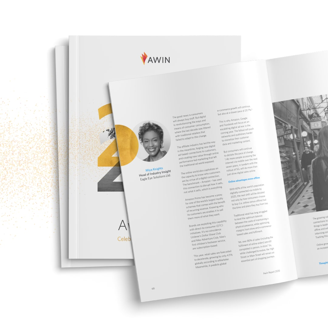 awin report 2020 with article by Miya Knights