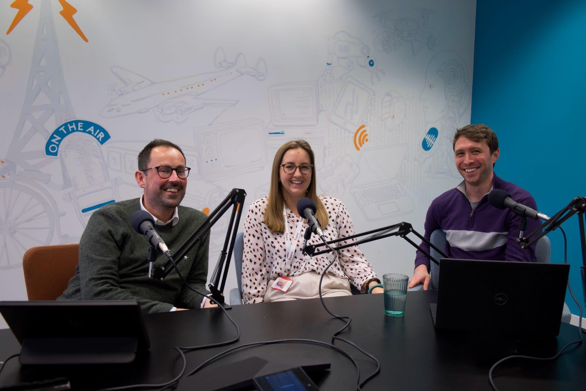 Kevin Edwards, Luisa Richardson and Robert Davinson on Awin Talks podcast
